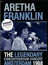 Cover Aretha Franklin - The Legendary Concertgebouw Concert Amsterdam 1968 [DVD]